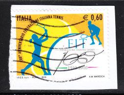 Italia   -   2010. Centenario Del Tennis Italiano. Centenary Of The Italian Tennis - Tennis
