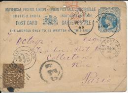 INDIA PS 1889 TO PARIS