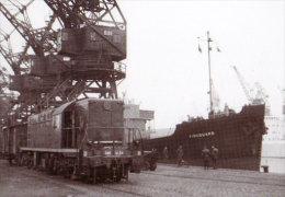 59 Carte Photo DUNKERQUE Manoeuvres Du Tarin Sur Les Quais Du Port - Dunkerque