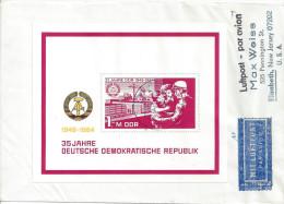 Germany (DDR) 1984  35 Jahre DDR  Mi.2896 (block 78) - [6] République Démocratique