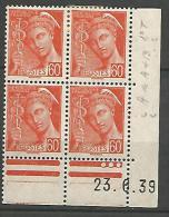 COIN DATE  N� 415  / 1939 NEUF* TTB