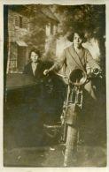 N°39420 -carte Photo Side Car - Motorbikes