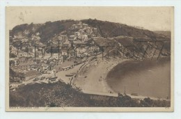 Looe Or Logh (Royaume-Uni, Cornwall) : View General Of Beach And Promenade In 1910 (lively )PF . - Other