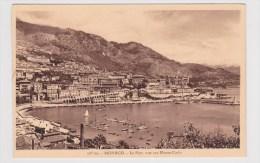 MONACO - N° 107 Bis - LE PORT VUE SUR MONTE CARLO - Hafen