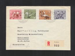 Liechtenstein FDC1954 - FDC