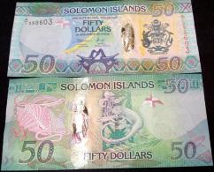 SOLOMON ISLANDS 50 DOLLARS ND 2013 P NEW HYBRID UNC - Solomon Islands