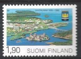 Finlande 1989 N°1053 Neuf Savonlinna - Finlande
