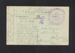 CP St. Nazaire Depot Des Prisonniers De Guerre - Poststempel (Briefe)