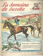 LA SEMAINE DE SUZETTE   N° 31   -  LANGUEREAU  1955 - Magazines