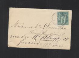 Lettre 1898 St. Paul - Poststempel (Briefe)