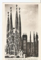 Postal 029735 : Barcelona. Templo Sagrada Familia - Postales