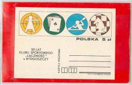 POLSKA -   GIOCO  SCACCHI  -  CARTE  -  TIRO ARCO  -  CANOA  -  KAYAK - Giochi