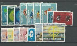 ANTILLES NEERLANDAISES, ** N°389/404, TB - Antillen