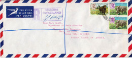 Postal History Cover: Swaziland - Francobolli