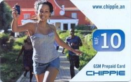 CURACAO : NAF 10  CHIPPIE  Selfie In Park    Used - Antilles (Netherlands)