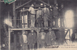 42 - La Ricamarie - une cage de mineurs (anim�e, Lib. Girourd Firminy)