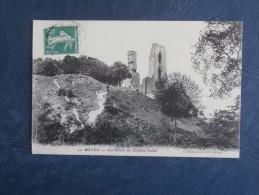 Boves  Les Ruines Du Chateau Féodal - Animée - Ed. Caron 21 - Circulée 1915 -L166 - Boves