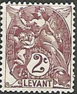 LEVANT YVERT  N� 10 NEUF* TTB