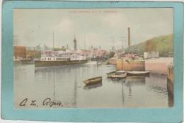 RIVER  ORWELL  &  S. S.  NORFOLK  -  1907  -  BELLE CARTE  -