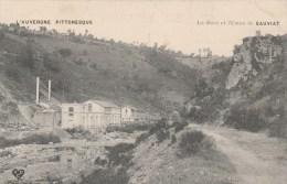 8m - 63 - Sauviat - Puy-de-Dôme - La Dore Et L'Usine De Sauviat - L'Auvergne Pittoresque - VDC - France