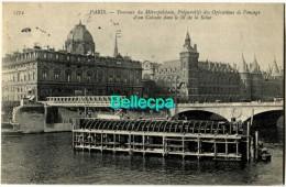 75 Paris Construction Métropolitain METRO Opérations Fonçage Lit Seine - Sin Clasificación