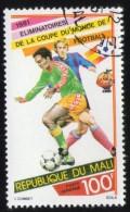 Mali 1981 Oblitéré Rond Used Stamp Eliminatoires Coupe Monde Football Espagne 82 - Mali (1959-...)