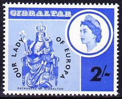 "Gibraltar -  Schutzpatron ""liebeFrau""/Patron ""dear Wife""/Patron ""chère épouse"" 1966 - Postfrisch MHN - Europäischer Gedanke"