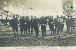75 Paris Galerie Des Machines Cantonnement Des Troupes 1er Mai 1906 Etat Major - Non Classés
