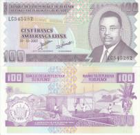 BURUNDI AFRICA 100 FRANCHI 2007 FDS UNC - Burundi