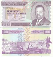 BURUNDI AFRICA 100 FRANCHI 2011 FDS UNC - Burundi