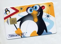 Telecarte 50 U Pingouin - Pingouins & Manchots