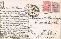 10498. Postal GAND (Belgien) 1922. Maison De Bateliers - Bélgica