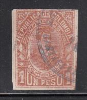 Colombia Used Scott #216 1p General Prospero Pinzon - Colombie