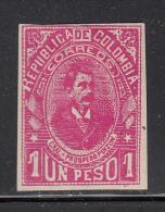 Colombia MH Scott #217 1p General Prospero Pinzon - Colombie