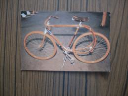 Vélo En Bois           Cycle  La Souplette 1894-1896      2 Scans - Postcards