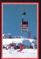 CPM Animée Etats Unis Ski Jackson Hole Téléphérique - Etats-Unis