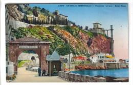 CPSM VINTIMILLE (Italie-Ligurie) - GRIMALDI : Frontière Grottes Balzi Rossi - Autres Villes