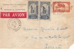 Enveloppe ( Seule ) Postée Du Maroc Pour La France à Paris - Non Classificati
