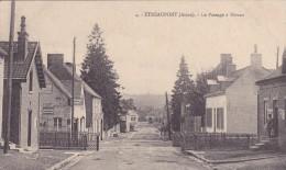 Etréaupont La Passage à Niveau Feldpost - France
