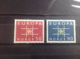 Noorwegen / Norway - Postfris / MNH - Complete Serie Europa CEPT 1963 - Noorwegen
