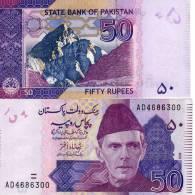 PAKISTAN 50 RUPEES 2008 P NEW COLOUR XF - Pakistan