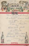 Menu Publicitaire / Vittel / Vitteloise/Casino De Vittel// Vers 1950    MENU72 - Menus