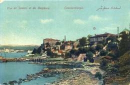 Constantinople - Vue De Scutari Et Du Bosphore - Turkey