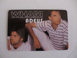 By Wham Portuguese Pocket Calendar 1987