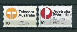 1975 Australia Complete Set Telecom,post Used/gebruikt/oblitere - 1966-79 Elizabeth II