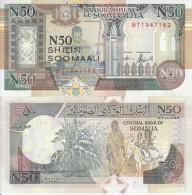 SOMALIA BANCONOTA 50 SHILIN 1991 UNC FDS - Somalia