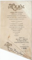 Menu/ Potage Crême Princesse/Restaurant J MOYNE / Marius Jacquesmont/1898    MENU76 - Menus