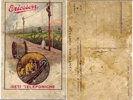 ERICSSON RETI TELEFONICHE - PALI TELEFONO - ATTENZIONE ALLA CONSERVAZIONE - Advertising