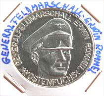 MEDALLAS CONMEMORATIVA GERALFELDMARSCHALL ERWIN ROMMEL    >WÜSRENFUCHS - Profesionales/De Sociedad