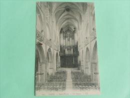 CAEN - ST PIERRE, Les ORGUES - Caen